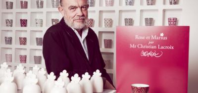 Une collaboration avec Christian Lacroix pour Noel 2015