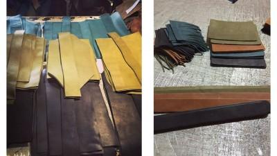 Atelier fabrication artisanale cuir Elisabeth Nicolas