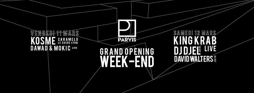 Opening du Parvis Marseille
