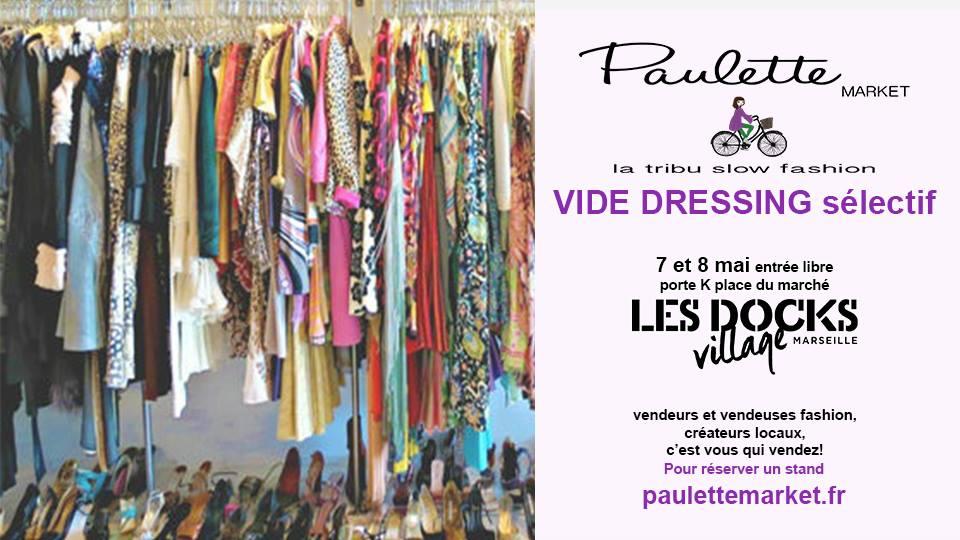 paulette market vide dressing marseille