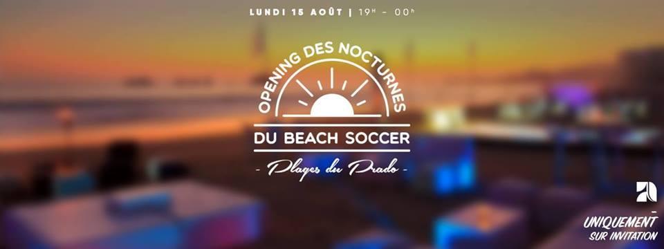 les nocturnes du beach soccer